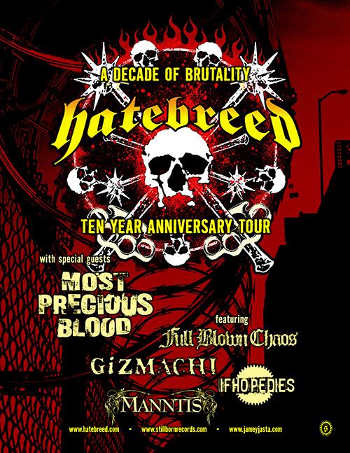 Hatebreed - Decade Admat