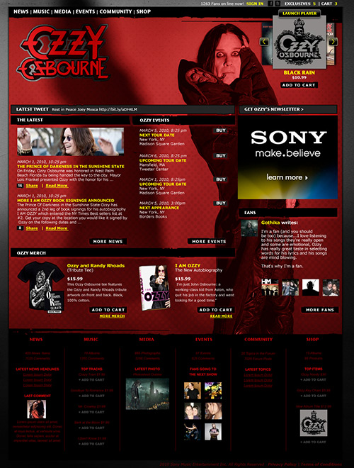 Ozzy Osbourne (not used)