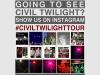 Civil Twilight Instragram