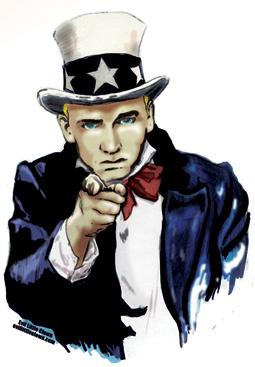 """Eminem """"Emocratic Nation Convention"""" Poster Art for MTV"""